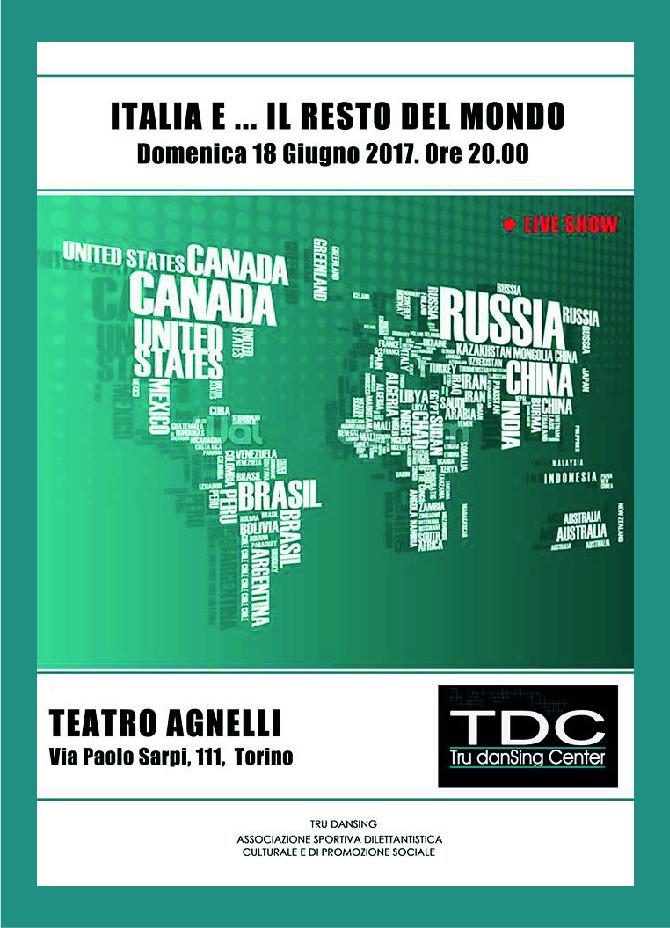 Saggio 2017: Italia e... Resto del Mondo