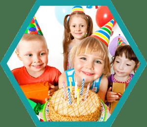 bambini festa di compleanno